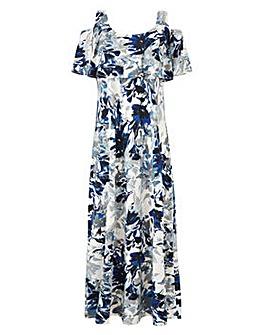 Grace cold shoulder maxi dress