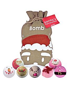 Bomb Cosmetics Santa's Favourite Sack