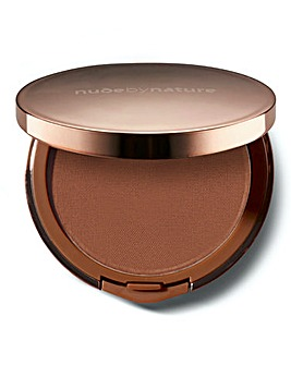 Nude by Nature Flawless Pressed Powder Foundation C8 Chocolate