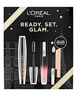 L'Oreal Paris Ready Set Glam Gift Set