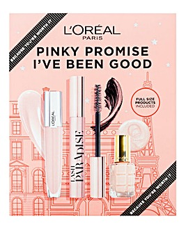 L'Oreal Paris Pinky Promise I've Been Good Gift Set