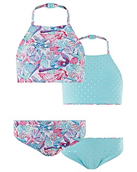 Monsoon Pearly Print Reversible Bikini