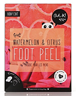 Oh K! Watermelon & Citrus Foot Peel