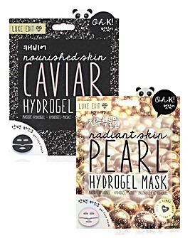 Oh K! Caviar & Pearl Hydrogel Mask Set