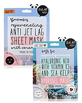 Oh K! Hyaluronic Acid & Anti Jet Lag Set