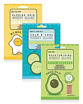 Sugu Natural Face Masks Set
