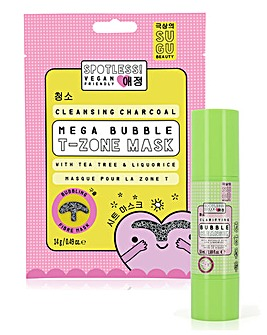 SUGU Spotless Cleansing Bubble Set