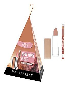 Maybelline New York Nudes Lip Set