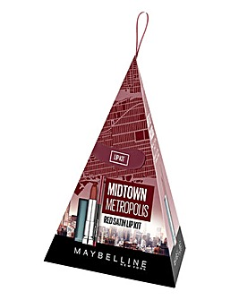 Maybelline Mid Town Lip Gift Set