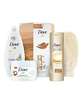 Dove Ready Steady Glow Collection Gift Set