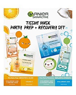 Garnier Party Prep and Recovery Set