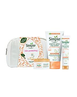 Simple Skin Protecting Beauty Bag Gift Set