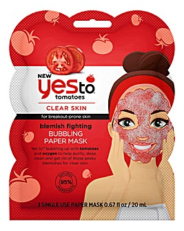 Yes To Tomatoes Blemish Fighting Bubble Mask