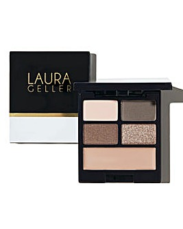 Laura Geller Baked Shadow-n-Spackle Eyeshadow and Primer Palette - Cafe All Day