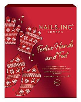 Nails Inc Hand & Foot Mask Duo