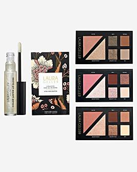 Laura Geller Palette For All Seasons & Lip Gloss Set
