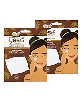 Yes To Coconut Sleeping Mask x2