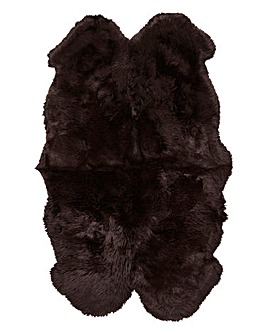 Genuine Sheepskin Rug- Quad