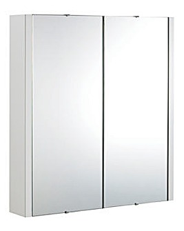 2 Door Turin Mirror Cabinet