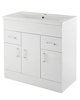 Minimalist 800mm Cabinet and Basin