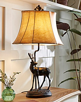 Faline Base Table Lamp with Shade