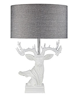 White Stag Base Table Lamp