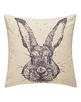Rabbit Sketch Cushion
