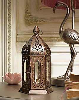 Joe Browns Gold Ornate Lantern