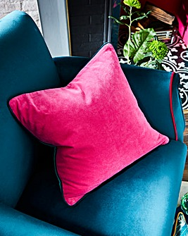 Joe Browns Velvet Contrast Cushion
