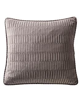 Karen Millen Velvet Pleat Square Cushion
