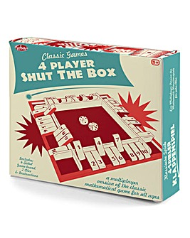 4 Player Shut the Box