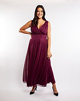 Scarlett & Jo Nancy Marilyn Maxi Dress