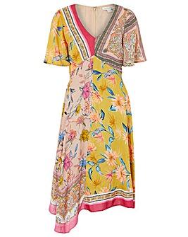 Monsoon Scandi Scarf Hanky Hem Dress