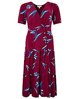 Monsoon Billie Tiered Jersey Dress