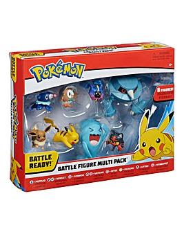 Pokemon Battle 8 Figure Multipack