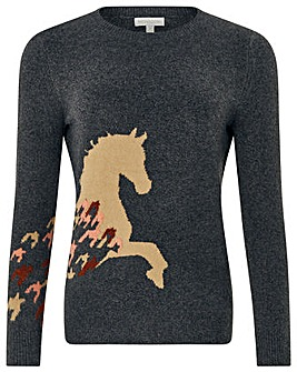 Monsoon Holly Horse Jumper