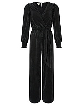 Monsoon Lillian Plisse Jersey Jumpsuit