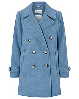 Monsoon Ashley Double Breasted Pea Coat