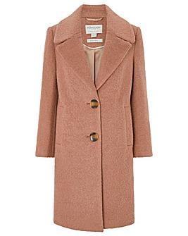 Monsoon Billie Boucle Coat