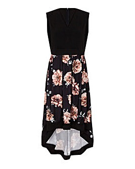 Mela London Curve Floral Dress