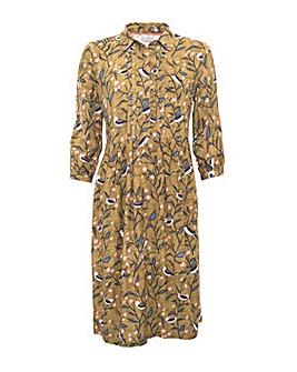 BRAKEURN BIRD SONG DRESS