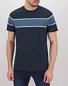 Chest Stripe T-Shirt Long