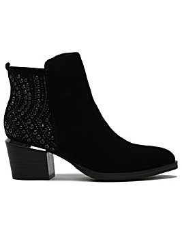 Daniel Adley Embellished Ankle Boots