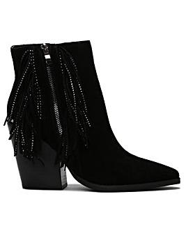 Daniel Asey Diamante Tassel Western Boot