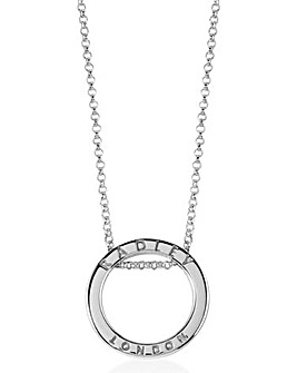 Radley Thread Through Circle Pendant