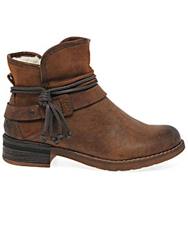 Rieker Eaton Standard Fit Ankle Boots