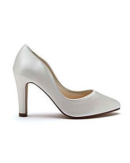 Rainbow Club Ebony Satin Shoes