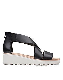 Clarks Jillian Rise Standard Fitting Sandals