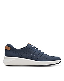 Clarks Unstructured Un Rio Tie Standard Fitting Shoes