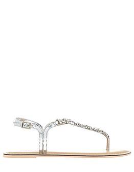 Accessorize Reno Silver Sandal